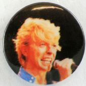 David Bowie - 'Singing Dark' Button Badge